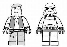 Lego Star Wars Coloring Pages Free Photo