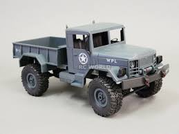 100 4wd Truck 116 RC 4WD ROCK CRAWLER Scale MILITARY LED Suspension