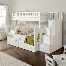 Atlantic Furniture Columbia Twin over Full Stairway Bunk Bed