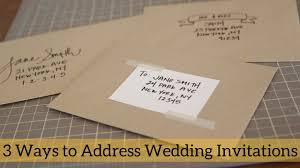 Maxresdefault 3 Ways To Address Wedding Invitations Youtube