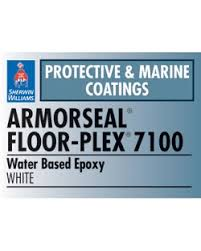 armorseal floor plex 7100 water based epoxy sherwin williams
