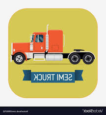 Best 15 Semi Truck Icon Vector File Free