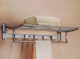 Bathroom Towel Bar With Shelf by 10inch Bathroom Towel Bar Rack Hanger Rail Deluxe 304 Stainless Steel