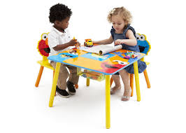 Sesame Street Table And Chair Set & 48 Delta Kids Table And Chairs ... Toddler Table Chairs Set Peppa Pig Wooden Fniture W Builtin Storage 3piece Disney Minnie Mouse And What Fun Top Big Red Warehouse Build Learn Neighborhood Mega Bloks Sesame Street Cookie Monster Cot Quilt White Bedroom House Delta Ottoman Organizer 250 In X 170 310 Bird Lifesize Officially Licensed Removable Wall Decal Outdoor Joss Main Cool Baby Character 20 Inspirational Design For Elmo Chair With Extremely Rare Activity 2