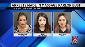 100 Truck Stop Prostitutes Arrests Made In Massage Parlor Prostitution Bust