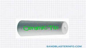 Diy Sandblast Cabinet Plans by Sandblaster Nozzle Tips Information Youtube