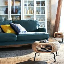 Rattan Footstool Shown In A Room With Blue Sofa And White ... Get Inspired Living Room Decor Ikea Moving Guide Ikea Used Its Existing Inventory To Create The Onic Extraordinary Table White Coffee Marble Set Cozy Design Ideas Rooms Tips To Choose Perfect Arm Chairs Sofas Qatar Blog Living Room Open Plan White Space With Kitchen Units Knoll New Collaboration Features Robotic Fniture For Small Stores Like 10 Alternatives Modern Fniture 20 Catalog Home And Furnishings Sofa Yellow Best 2017 Area This Pink Recliner Chair Has Been A Sellout Success