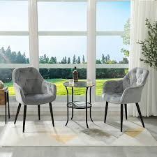 dictac esszimmerstühle 2er set polsterstuhl küchenstühle