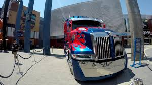 Optimus Prime Truck In Real Life (4K) - YouTube