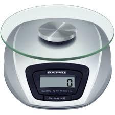 soehnle balance cuisine balance de cuisine numérique soehnle siena plage de pesée max 3