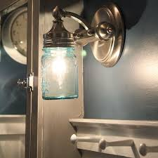 diy jar sconce light hometalk