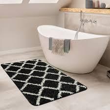 badezimmer teppich rauten versch größen u farben