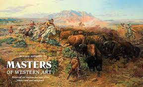 The Buffalo Hunt Charles M Russell Western Historical