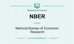 bureau for economic research nber national bureau of economic research in governmental
