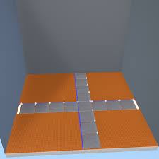 prep a tile floor