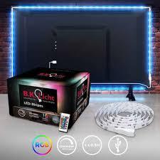 b k licht led streifen 36 flammig led tv hintergrundbeleuchtung backlight 2m usb rgb selbstklebend