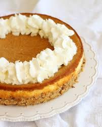 Pumpkin Layer Cheesecake double layer pumpkin cheesecake