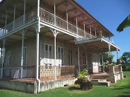 Louisiana House French Caribbean 640x480 Colonial ArchitectureArchitecture InteriorsCaribbean
