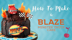 99 How To Make A Monster Truck Cake Blaze And The Machines Tutorial Cherry