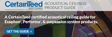 acoustical ceiling tile products