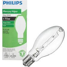 buy philips ed28 mogul mercury vapor high intensity light bulb
