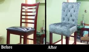 DIY HOW TO REUPHOLSTER A BAR STOOL WITH BUILT IN SEAT