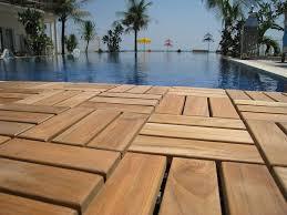 Kontiki Interlocking Deck Tiles Engineered Polymer Series by Patio U0026 Outdoor Best Furinno Tioman Outdoor Floor With