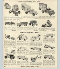 100 Smith Miller Trucks 1954 PAPER AD Doepke Model Toy Truck Keystone Structo
