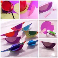 Little Bird Paper Craft Project For Children