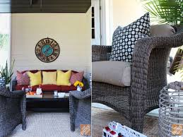 Martha Living Patio Furniture Cushions by Give Your Patio Furniture Set A Custom Look