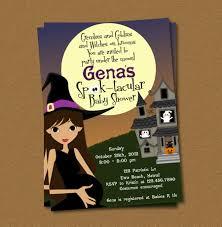 Free Blank Halloween Invitation Templates by Template Halloween Baby Shower Invitations