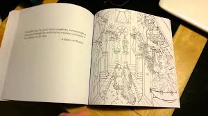 Game Of Thrones Colouring Book Flip Through