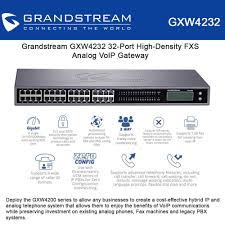 Grandstream GXW4232 32-Port High-Density FXS Analog VoIP Gateway Mobile Fax Machine Suppliers And Manufacturers Amazoncom Linksys Spa2100 Voip Adapter Includes Two Fxs Ports Latest Portable Voip Phone Wireless Ata Fta1101 Buy Obihai Obi504vs Universal With 4phone T Mission Machines Td1000 System 4 Vtech Ip Phones The Fall Of The Mighty Michell Consulting Group Panasonic Kxfp205 16 X 1 Nexhi Spa1001 Gateway Voice Rj11 For Analog Decommissioning Your Pstn Take Your Along Audiocodes 17jpg Index Assetsimagesvoipgsmtecomfmcellfaxplus