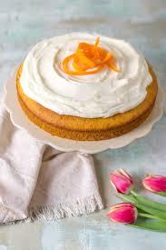 karottenkuchen mit frischkäse creme