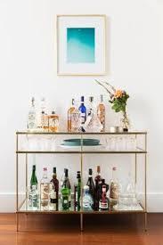 8 getränkewagen ideen wohnzimmer bar goldener