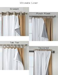 Blackout Curtain Liner Fabric by Amazon Com 101