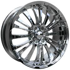 100 20 Inch Truck Rims 4 HD Spinout X 9 5x127 Chrome OFST35mm X9 Wheels