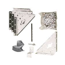 Suncast Alpine Shed Accessories by Suncast 3 Ft 7 In X 2 Ft 1 2 In Metal Shed Loft Kit For Alpine