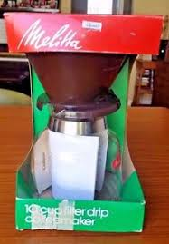 Image Is Loading Vintage Melitta Manual 10 Cup Cone Filter CoffeeMaker