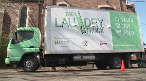 Mobile Laundry Truck Cleans Clothes For Homeless — Free Of Charge ...