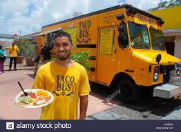 100 Mexican Food Truck St Saint Petersburg Florida Taco Bus Authentic Food Truck