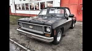 1974-Chevy-C10-Pickup-V8-350-Stepside-Shortbed - YouTube