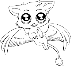 Cute Baby Animal Coloring Pages Photos Inspirations Little Dragoart Sheets