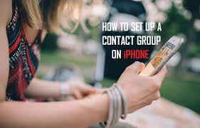 How to Create Contact Groups iPhone