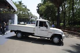 Mahindra Bolero Maxi Truck Plus White Side