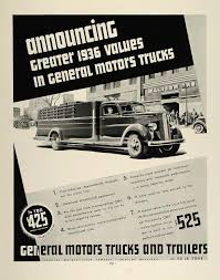 1936 Ad General Motors Trucks GMC One-Half Ton Trailers - ORIGINAL ... Gm Sold 124000 More Trucks Than Ford So Far This Year Gmc General Motors Sales Tin Sign Garage Decor Fox News To Diversify Axle Supply For New Photo Recalls Almost 8000 Pickup Over Power 2015 Canyon Unveiled At Detroit Auto Show Concept Car Of The Week Bison 1964 Design Trademarks Scottsdale And Silverado Big Chevrolet Ck Tractor Cstruction Plant Wiki Fandom Powered And Isuzu Scrap Their Truck Partnership In Asia Fortune Is Motoring As Profit Jumps 34 Pct On Us Truck Suv Sales