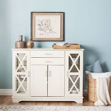 Shabby Chic Dining Room Hutch by Best 25 White Buffet Cabinet Ideas On Pinterest White Buffet