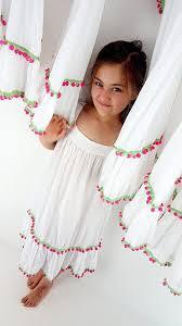 wendy girls white cotton dress u2013 kobomo