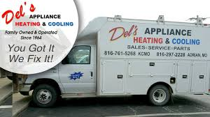 100 Appliance Truck Dels Heating Cooling Services We Service All Makes