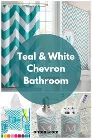 Light Teal Bathroom Ideas by 25 Best Chevron Bathroom Decor Ideas On Pinterest Chevron